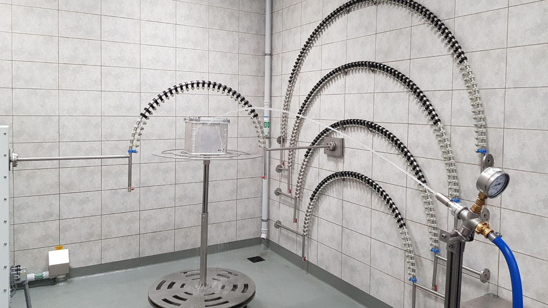 IP test chamber
